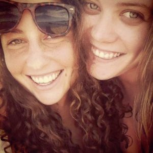 Kelsey Duchesne and Jessica Hoch