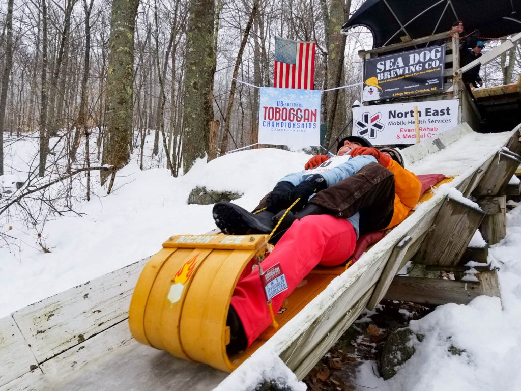 U.S. National Toboggan Championships. Photo by Shannon Bryan